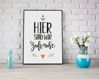 Poster für zuhause